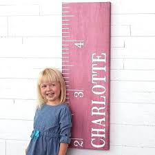 Fabric Growth Chart Tutorial Cloth Growth Chart Wee Gallery Canvas Growth Chart Woodland