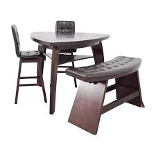 72% OFF Bob s Furniture Bob s Furniture Boomerang Bar Stool and