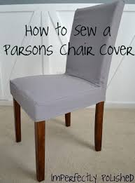 parsons chair slipcover tutorial great idea i can cover the parsons stools at the
