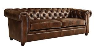 Living Room With Brown Leather Couch Amazoncom Abbyson Living Foyer Premium Italian Leather Sofa