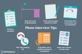 Interview Tips Get Some Great Phone Interview Tips