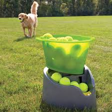 oggo remote fetch automatic tennis ball launcher for dogs