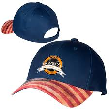 patriotic 6 panel custom logo printed hat in bulk personalized business giveaways for independence