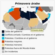 Resultado de imagen para primavera arabe