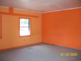 orange wall paintOrange You Glad You Saw These Homes  Ugly House Photos