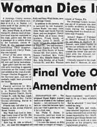 Jewell Wade Obituary - Newspapers.com