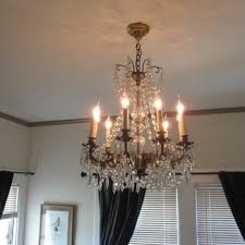 photo of darius kraus electric oakland ca united states grandmother s chandelier installed