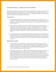 Conclusion Template For Report Science Experiment Example