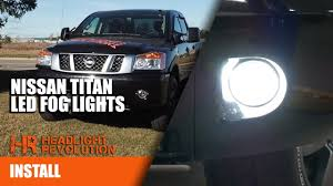 2018 Nissan Titan Led Fog Lights 2003 2015 Nissan Titan Led Fog Light Bulbs Lvl 1 Lightning Series