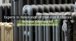 Ecorad USA | Experts In Restoration Of Cast Iron Radiators