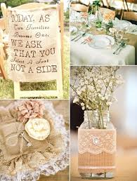 ... Wedding Decoration Ideas Using Burlap And Lace Perfect Rustic Chic Lace  And Burlap Wedding Ideas And ...