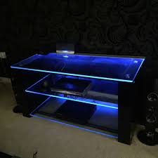 demagio high gloss black led light lcd 4k tv stand in slough high gloss coffee table