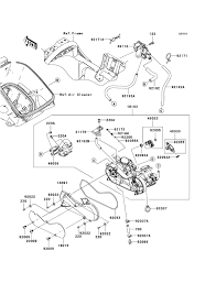 2008 fuel injection parts page 4 kawasaki atv forum here 39 s a pic of the air temp sensor bottom of airbox and the new 2 plug ecu that replaces the 3 plug cdi