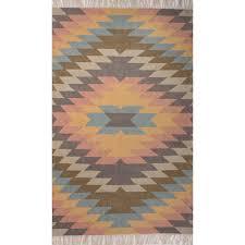 jaipur rugs desert mojave 8 x 10 indoor outdoor rug blue orange