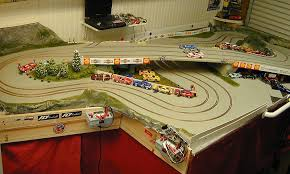 building slot car tracks by mike nyberg after