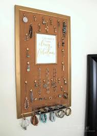diy jewelry organizer you could replace with a mirror artsyrule jewelryorganizer popularpins