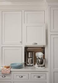 gray shaker cabinet doors. these are the cabinet doors i love :) small kitchen appliances garage, transitional, gray shaker