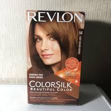 Revlon 54 Light Golden Brown Revlon Colorsilk 54 Light Golden Brown Health Beauty