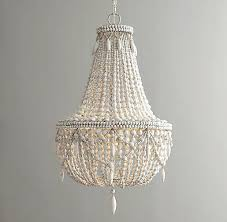 impressive beaded crystal chandelier 1930s french crystal beaded chandelier
