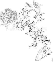 Stihl ms 181 chainsaw ms181cbe2mix parts diagram hand guard