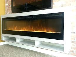 dimplex electric fireplace tv stand electric fireplace in custom white oak floating cabinet cad for spectrafire
