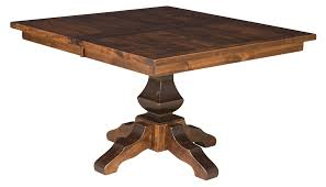 rustic square dining table. Experience The Beauty Of Handcrafted Amish Furniture. USA Rustic Square Dining Table A