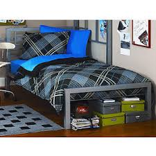 Metal Twin Size Bed Frame Platform Bedroom Furniture Headboard Kids ...