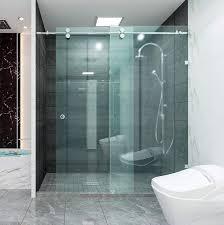 shower sliding glass door glass shower