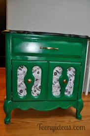 emerald green furniture. Emerald Green Painted Furniture With Matte Gold Hardware And Black White Details .