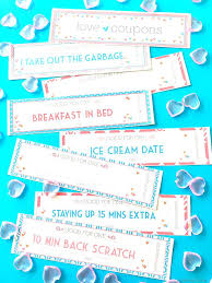 Free Printable Love Coupons Perfect For Valentine Gift Coupon Book