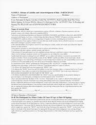 53 Lovely Liability Release Form Template | Americas Business Council