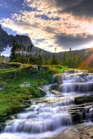 stunning waterfall wallpaper high