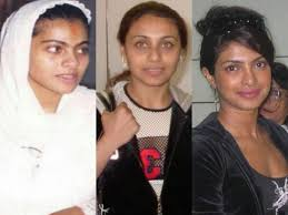 30 strange pictures of bollywood actresses without makeup