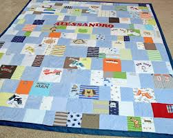 Quilt Made from Baby Clothes | Jelly Bean Quilts & Quilt made from baby clothes Adamdwight.com