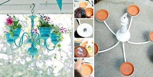 how to make a diy chandelier how to make a chandelier planter 1 diy chandelier earrings