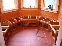 ana white kitchen nook diy s breakfast nook bench with storage benches