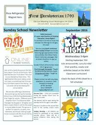 High School Newsletter Templates Free Download Sample 1140