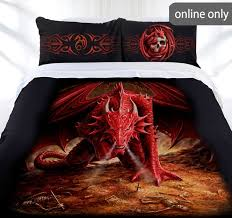 33 best Anne Stokes Collection images on Pinterest | Anne stokes ... & Anne Stokes Collection Dragons Lair Quilt Cover Set Adamdwight.com