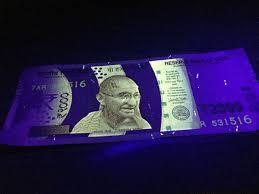 Fake Note Uv Light Jatin Israni