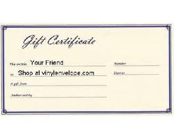 gift certificate for business border small business gift certificates