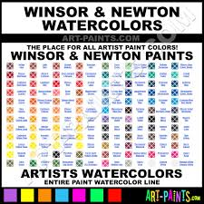 Winsor And Newton Cotman Color Chart Winsor And Newton Watercolor Paint Brands Winsor And
