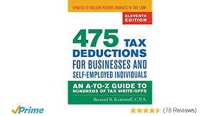 Legitimate tax write offs