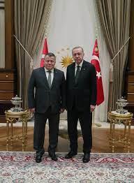 Yargıtay Başkanı Cirit'ten Cumhurbaşkanı Erdoğan'a veda ziyareti -