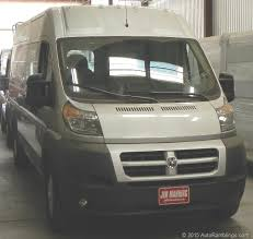 auto ramblings get your auto news here  blog archive the promaster has a distinct look and there is no doubt about that it take some getting used to by some but it seems to be the trend these days