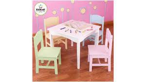 Kidkraft Heart Table And Chair Set Kidkraft Nantucket Table 4 Pastel Chairs Youtube