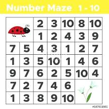 Puzzles Mazes Math Adding To 5 Math Picture Puzzles For Young