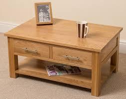 oslo solid oak  drawer coffee table ( x  x  cm) amazonco