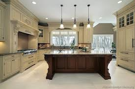 traditional kitchens designs. Traditional Two-Tone Kitchen Kitchens Designs