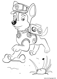 Coloring Pages Paw Patrolng Chase 1469063761paw Jumping Picture