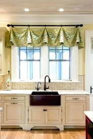 kitchen swag curtain green kitchen valances kitchen captivating swag curtains for kitchen kitchen curtain sets clearance